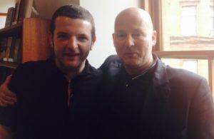 Graham Hunter and Kevin Bridges