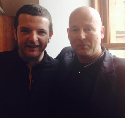 Graham Hunter and Kevin Bridges